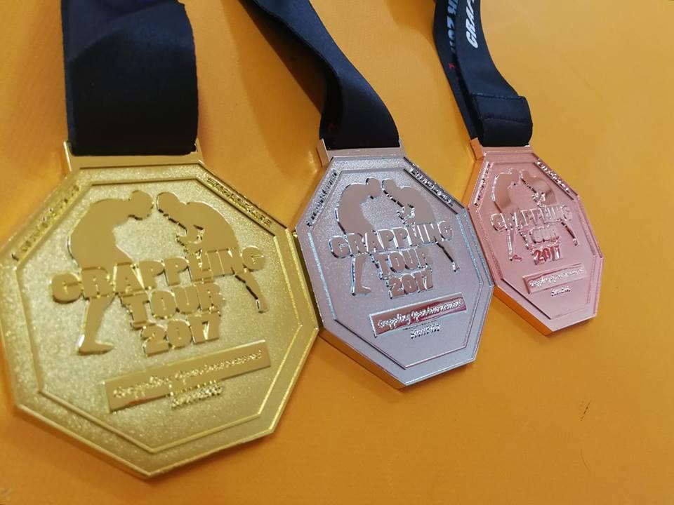 グラップリングツアー2017メダル